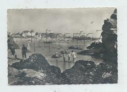 Saint-Nazaire (44) : La Mare Aux Crevettes De La Grande Plage De Saint-Marc-sur-Mer à Marée Basse Env 1965 (animé) GF. - Saint Nazaire