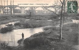 ¤¤   -   SAINT-FLORENT   -   L'Ancien Lit Du Cher  -  Chemin De Fer  -  Pêcheur    -  ¤¤ - Saint-Florent-sur-Cher