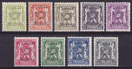 Belgique PRE520 PRE528 Année 1944 (MNH **) - Precancels