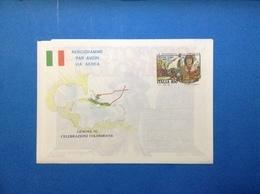 1992 ITALIA AEROGRAMMA POSTALE NUOVO NEW MNH** COLOMBO PRIMO VIAGGIO CELEBRAZIONI COLOMBIANE GENOVA 850 LIRE - Interi Postali