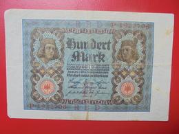 100 MARK 1920 ALPHABET :P CIRCULER (B.4) - [ 3] 1918-1933 : Repubblica  Di Weimar