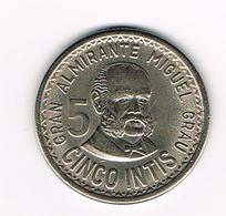 //  PERU  5  INTIS 1988  M - Pérou