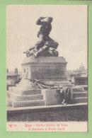 ROMA : Giardino Pubblico Del Pincio. Il Monumento Ai Fratelli Cairoli. TBE. Dos Simple. 2 Scans. Edition RTD - Parks & Gardens