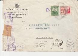 1938 SOBRE IV CUERPO EJERCITO DEL CENTRO  EL506 - 1931-Today: 2nd Rep - ... Juan Carlos I
