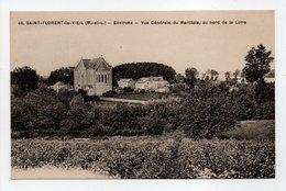 - CPA SAINT-FLORENT-LE-VIEIL (49) - Vue Générale Du Marillais, Au Bord De La Loire - Edition F. Chapeau N° 45 - - Other Municipalities