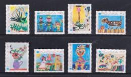 Poland 1971 UNICEF Children's Drawings Set Of 8 Mint No Gum - 1944-.... Republic