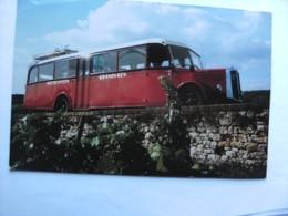Duitsland Deutschland Rheinland Pfalz Zellertal Autobus Bus  In Museum Drachten - Duitsland