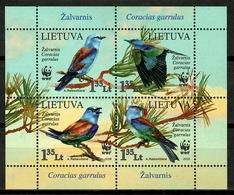 Lithuania 2008 / Birds WWF MNH Vögel Aves Oiseaux / Cu13615  18 - Pájaros