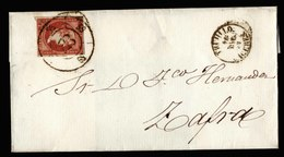 A6220) Spanien Spain Brief 1859 N. Zafra - 1850-68 Königreich: Isabella II.