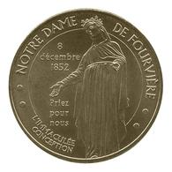 Monnaie De Paris , 2014 , Lyon , ND De Fourvière , Immaculée Conception , Revers CAN - Autres