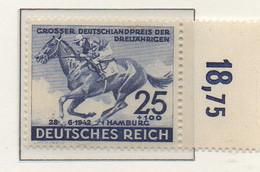 PIA - GERMANIA - 1942  : Derby Di Amburgo -  (Yv 738) - Ippica