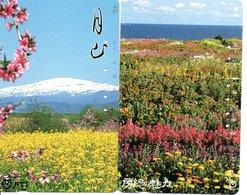 2 Télécartes Japon Japan  Fleur Flower  Phonecard (D 681) - Fleurs