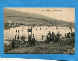 OYONNAX-la Patinoire Naturelle- Plan Animée -a Voyagé En 1910  édition VIALATTE - Oyonnax