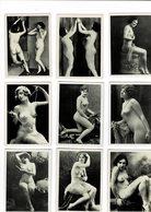 Beau Lot De Photos Erotique9 Sur 6 Cm - Fine Nude Art (1941-1960)