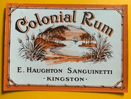 10684 - Colonial Rhum E.Haughton Sanguinetti Kingston - Rhum
