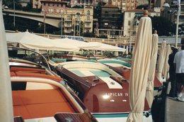 L - PHOTO ORIGINALE - BATEAU - MONACO - MONTE CARLO - CANOTS - RUNABOAT RIVA - SEPTEMBRE 2001 - Boats