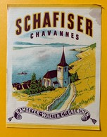 10685 - Schafiser Chavannes Suisse Ramseyer-Wälti Grenchen - Etiquettes