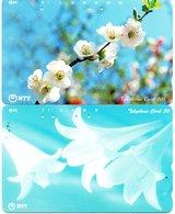 2 Télécartes Japon Japan  Fleur Flower  Phonecard (D 683) - Fleurs