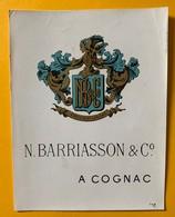 10686 - Cognac N. Barriasson - Etiquettes