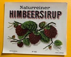 10687 - Sirop De Framboises Naturreiner Himbeersirup - Etiquettes