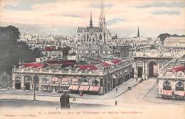 Nancy (54) - Arc De Triomphe Et Eglise Saint St Epvre - Nancy