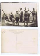 FORMIA ( LATINA ) SPIAGGIA & BARCA - CARTOLINA FOTOGRAFICA - 1929 (3321) - Latina