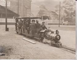 Earls Court Exhibition LONDON MINIATURE TRAIN  21*17CM Fonds Victor FORBIN 1864-1947 - Trenes