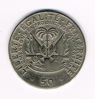 //  HAITI  50 CENTIMES 1979 - Haiti