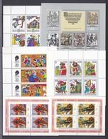 DDR - 1974/77 - Kleinbogen - Sammlung - Postfrisch - 23,5 Euro - DDR