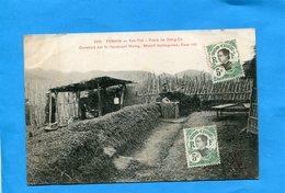 TONKIN-INDOCHINE- Yen Thé-poste De Dong Co -animé --a Voyagé En 1905  - - Vietnam