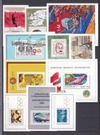 DDR - 1977/80 - Block - Sammlung - Postfrisch - 28 Euro - DDR