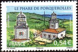 France N° 4116 ** Site - Le Phare De PORQUEROLLES - France