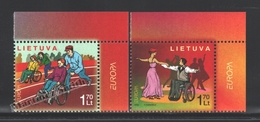 Lituanie – Lithuania – Lituania 2006 Yvert 787-88, Europa Cept. Integration - MNH - Lituanie