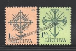 Lituanie – Lithuania – Lituania 2006 Yvert 792-93, Definitive Set, Forged Iron - MNH - Lituanie