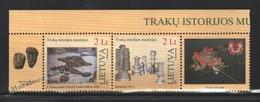 Lituanie – Lithuania – Lituania 2007 Yvert 818-19, Trakai History Museum - MNH - Lithuania