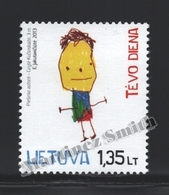 Lituanie – Lithuania – Lituania 2013 Yvert 989, Fathers Day - MNH - Lithuania