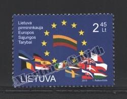 Lituanie – Lithuania – Lituania 2013 Yvert 991, Presidence Of The European Council - MNH - Lithuania