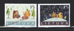 Lituanie – Lithuania – Lituania 2013 Yvert 1000-1001, Christmas & New Year - MNH - Lithuania