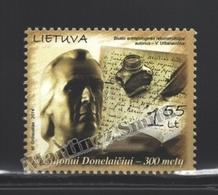 Lituanie – Lithuania – Lituania 2014 Yvert 1005, Kristijonas Donelaitis, Preacher & Poet - MNH - Litauen