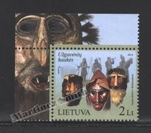 Lituanie – Lithuania – Lituania 2014 Yvert 1008, Mardi Gras Festival - MNH - Litauen