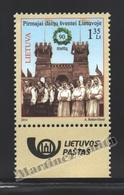 Lituanie – Lithuania – Lituania 2014 Yvert 1019, 90th Ann. Dance & Singing Festival - MNH - Litauen