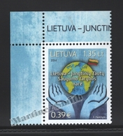 Lituanie – Lithuania – Lituania 2014 Yvert 1020, Member Of The United Nations Security Council - MNH - Litauen