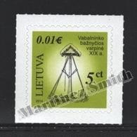 Lituanie – Lithuania – Lituania 2014 Yvert 1023, Architecture, Bell Tower - MNH - Litauen