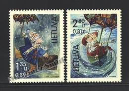 Lituanie – Lithuania – Lituania 2014 Yvert 1025-26, Christmas - MNH - Litauen