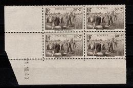 Coin Daté YV 466 N** Moisson Du 21.10.40 Cote 23 Euros - 1940-1949