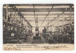 Seraing  Atelier De Mécanique - Etablissements Cockerill 1902 D.V.D. 9380 - Seraing