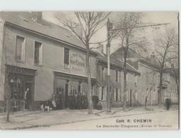 59 TINQUEUX ... La Haubette ... Terminus Des Tramways ... Café René Chemin (Monzet) Carte Pas Courante - France