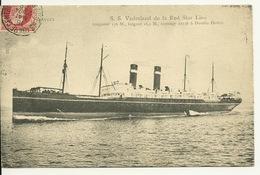 ANVERS / S.S. VADERLAND DE LA RED STAR LINE - Antwerpen