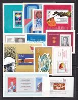 DDR - 1973/77 - Block - Sammlung - Postfrisch - 15 Euro - DDR