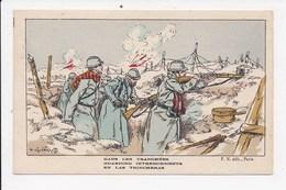 CPA  MILITARIA ILLUSTRATEUR P.KAUFFMANN Dans Les Tranchées - Kauffmann, Paul